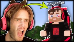 I found a PewDiePie Boss in Minecraft! (Real)